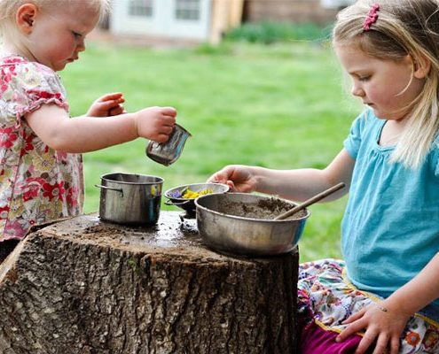 نقش بازی در رشد خلاقیت کودکان