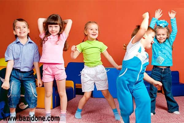 بازی های حرکتی کودکان پیش دبستانی