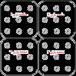 اموزش بازی pentago