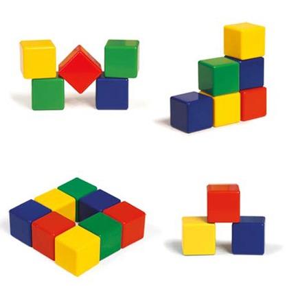 مکعب های رنگی بزرگ