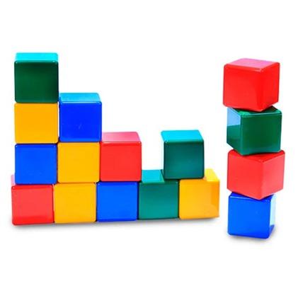 مکعب های رنگی کوچک