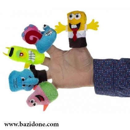 عروسک انگشتی باب اسفنجی