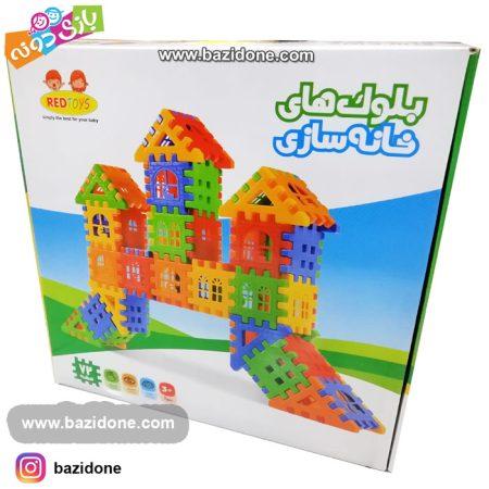 بلوک های خانه سازی 72 قطعه
