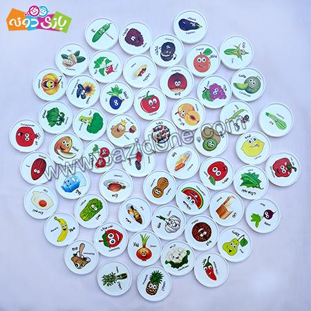 پازل میوه ها