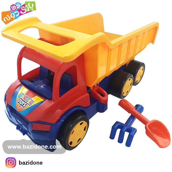 اسباب بازی کامیون 130 کیلویی