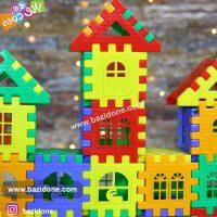 اسباب بازی خانه سازی ۷۲ قطعه