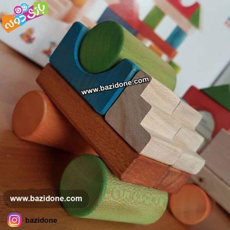 اسباب بازی بریکس چوبی
